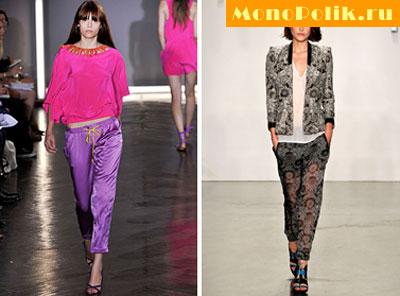 Модные брюки весна