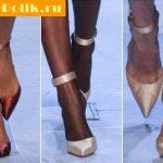 Актуальная обувь весна